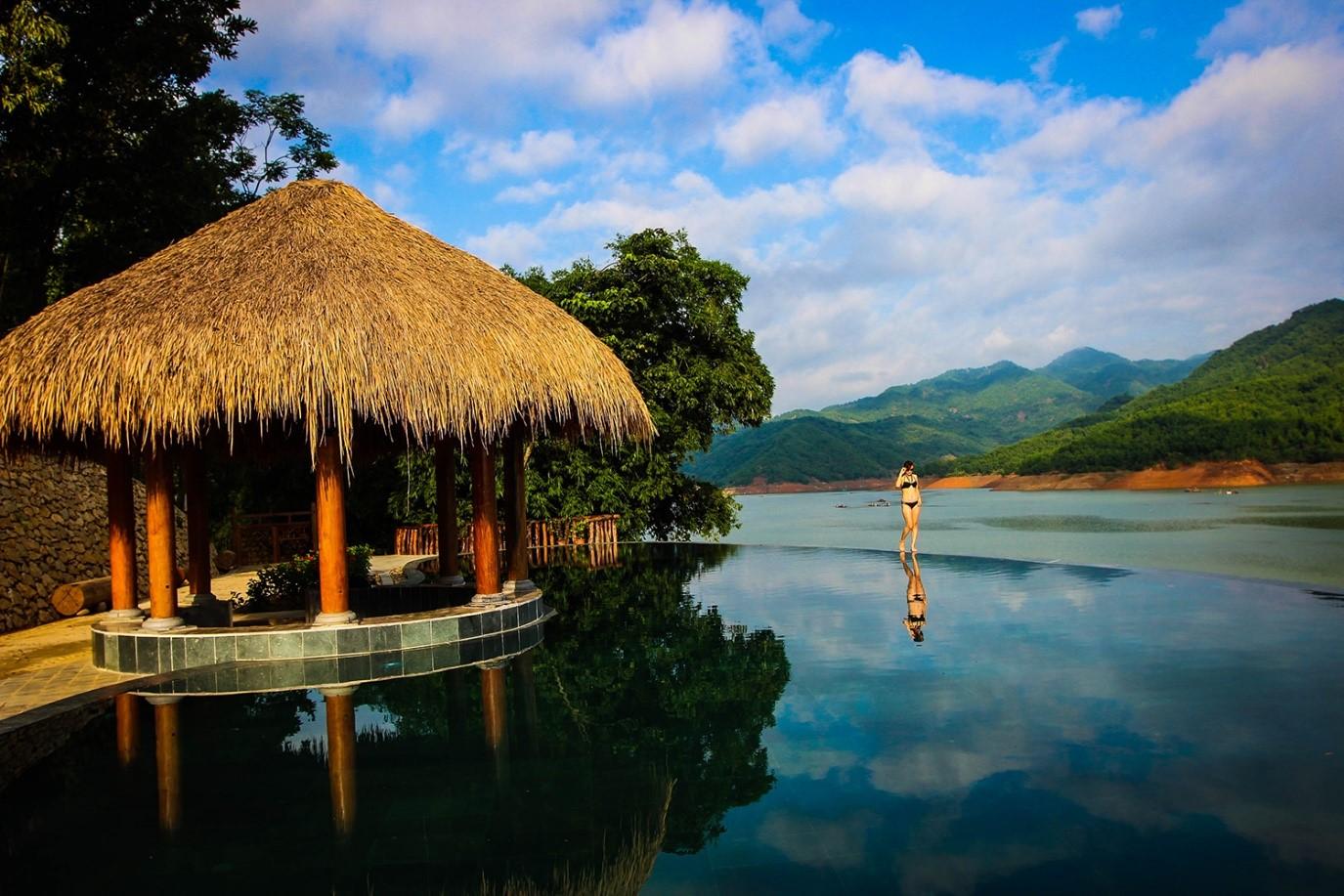 Vịt cổ xanh ResortĐịa điểm họp lớp gần Hà Nội 2