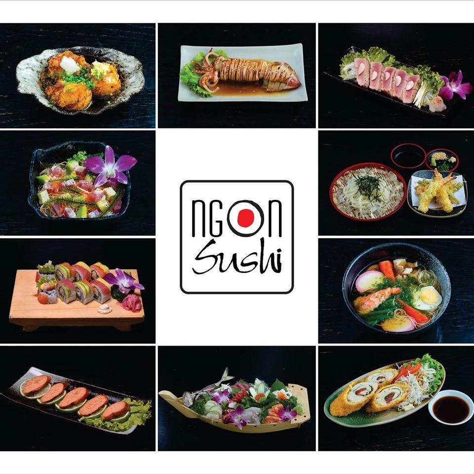 hương vị ẩm thực nhật Ngon Sushi Restaurant