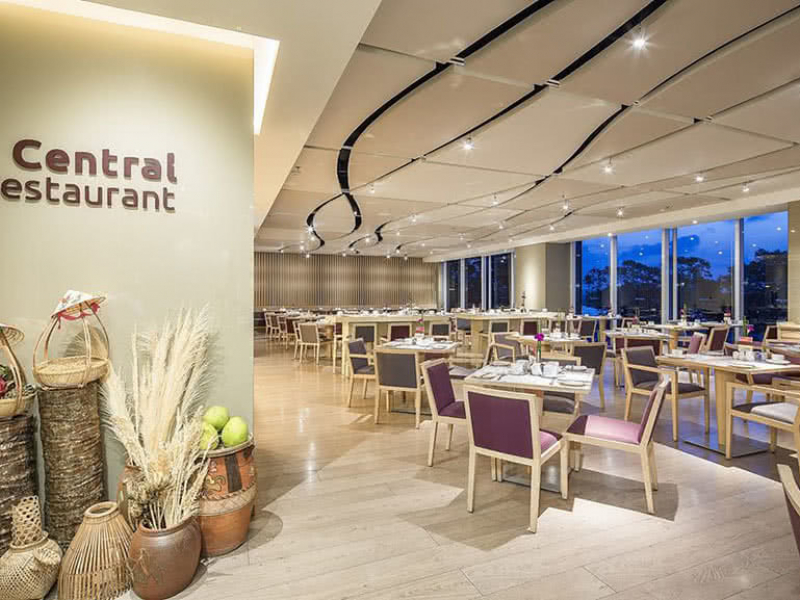 không gian Buffet Liberty Central, nhà hàng buffet quận 1