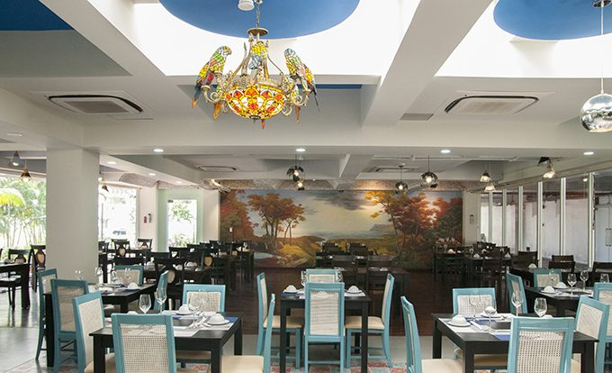 không gian Garden Seafood