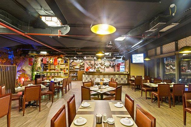 không gian KB Restaurant