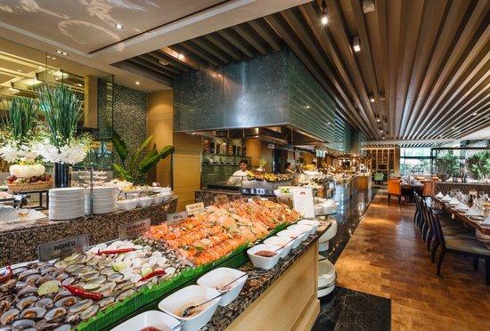 không gian Buffet Market 39