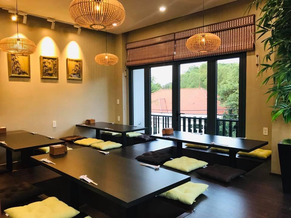 Không gian của nhà hàngNamara Hokkaido