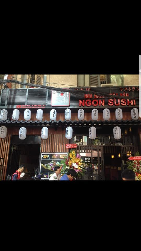 không gian Ngon Sushi Restaurant
