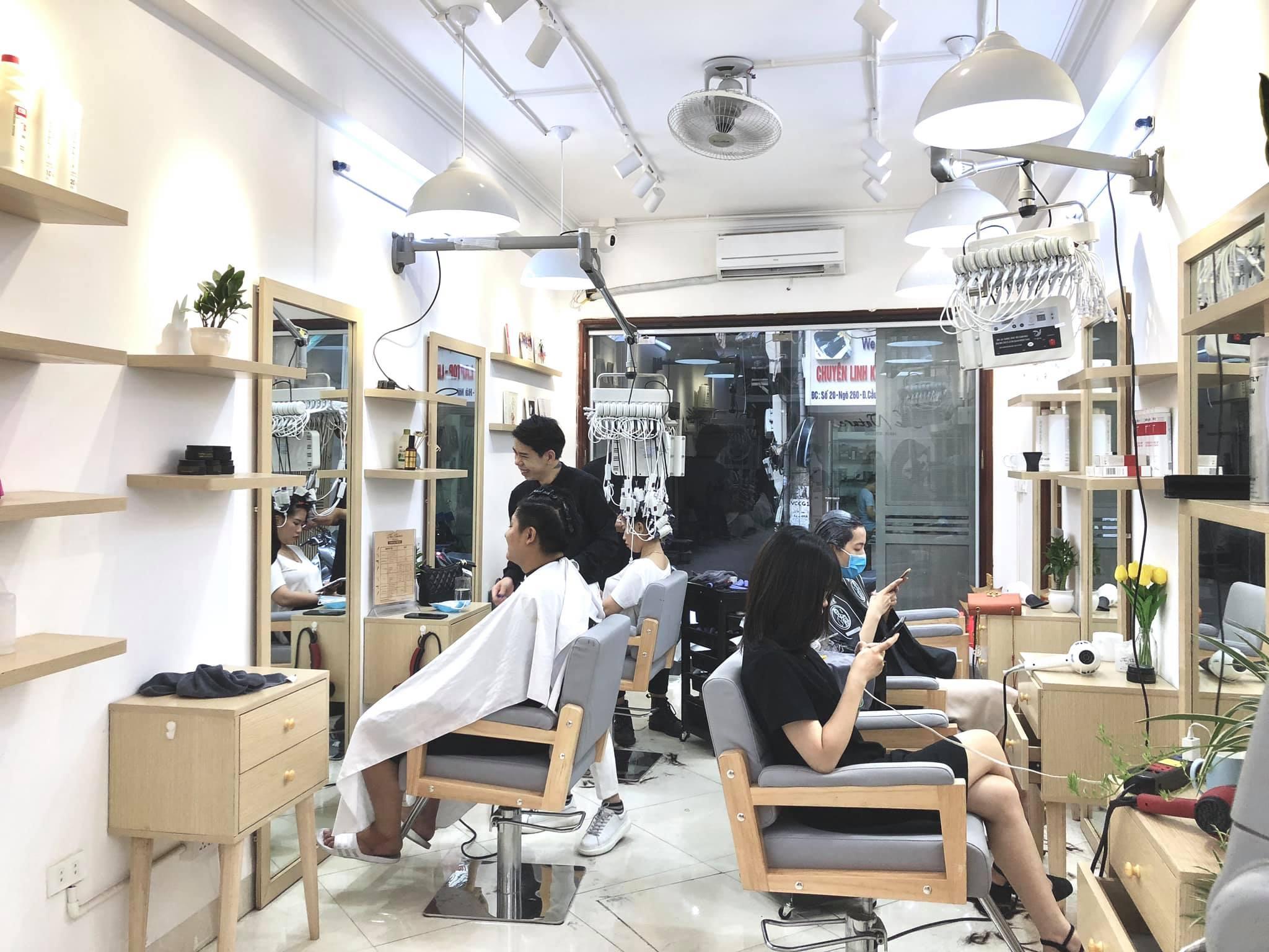không gian The Nature Hair Studio