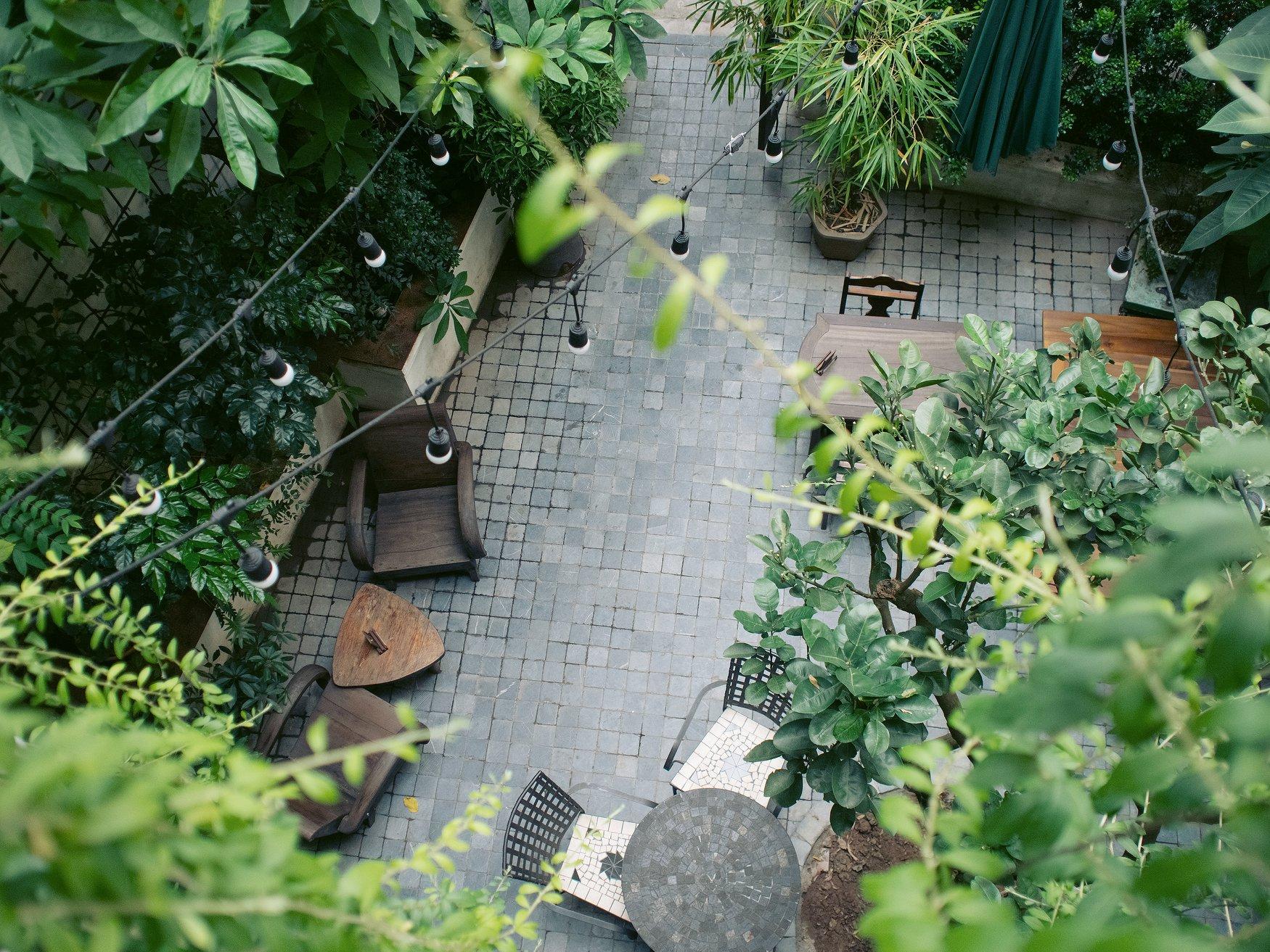 không gian De.Tầm Cafe 1
