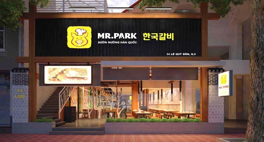 không gian Mr Park