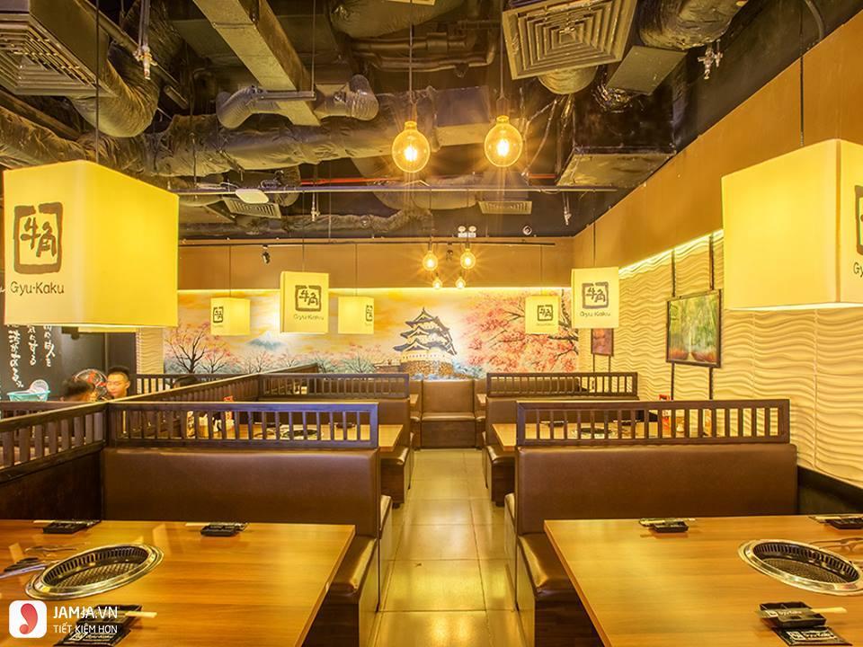 không gian Gyu-Kaku Japanese BBQ