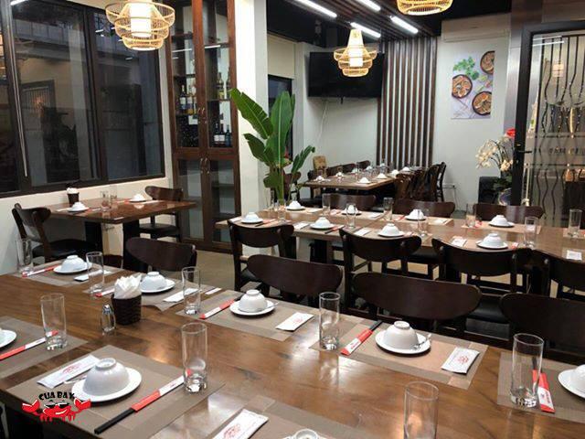 không gian Nhà hàng Hải sản Cua Bay