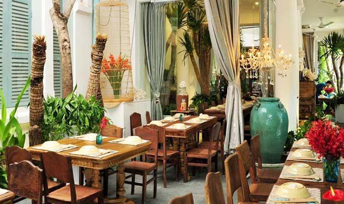 không gian Nhà hàng Gạo