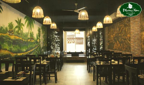 không gian Nhà hàng Phương Nam