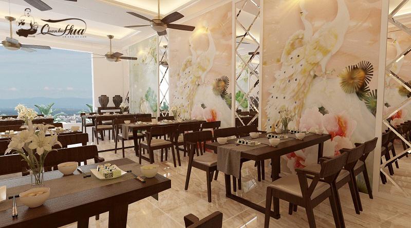 không gian Nhà hàng Quán Họ Hứa