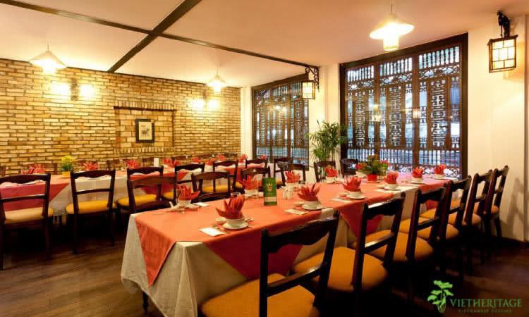 không gian Nhà hàng Vietheritage