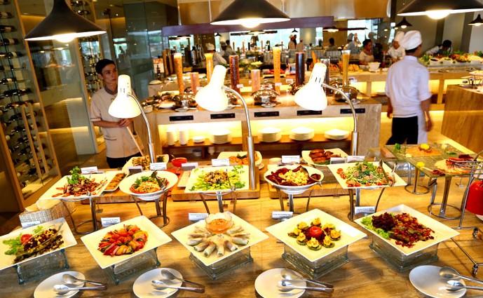 menu Buffet Liberty Central, nhà hàng buffet quận 1