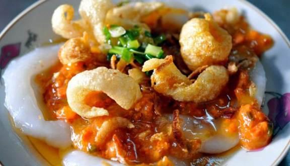 menu Bánh bèo số 4 Bà Hường