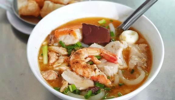 menu Bánh Canh Cua