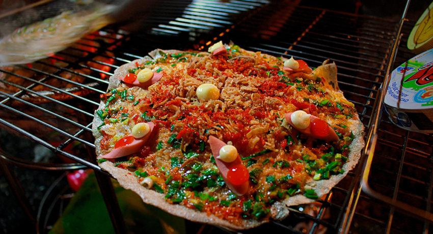 menu Bánh Tráng Nướng Dì Đinh