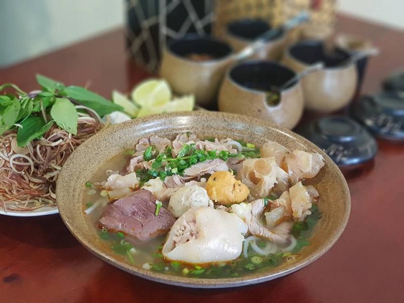 menu Bún Bò 44 Ngô Đức Kế