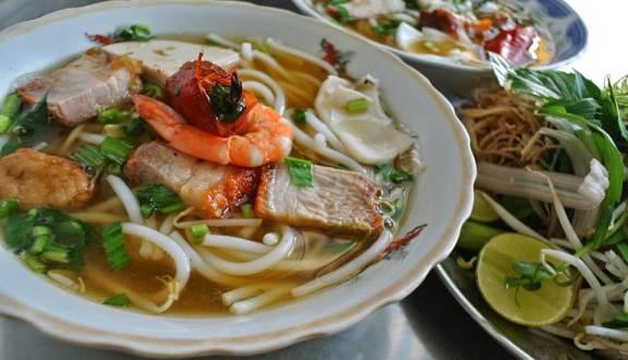 menu Bún Mắm
