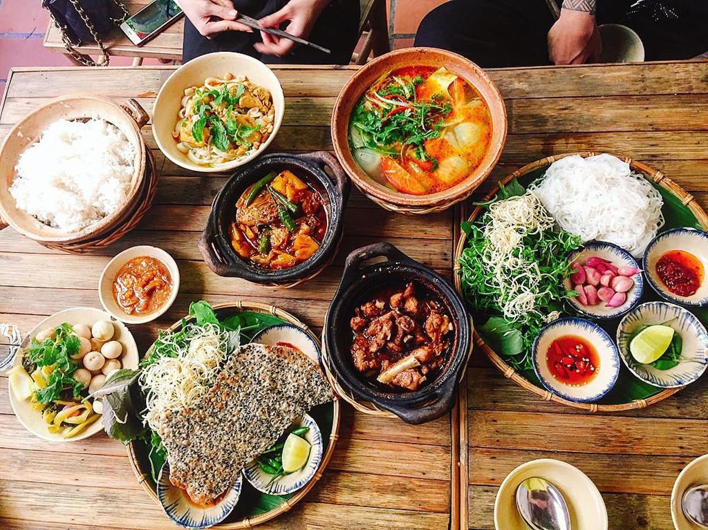 menu Cơm Quê Mười Khó