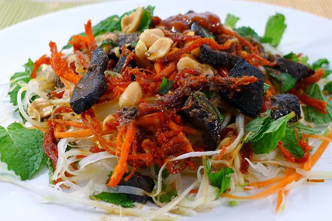 menu Gỏi khô bò Công viên Lê Văn Tám, quán ăn đặc sản sài gòn