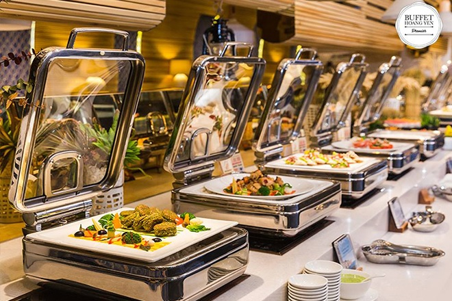 menu Hoàng Yến Buffet Premier, nhà hàng buffet quận 1