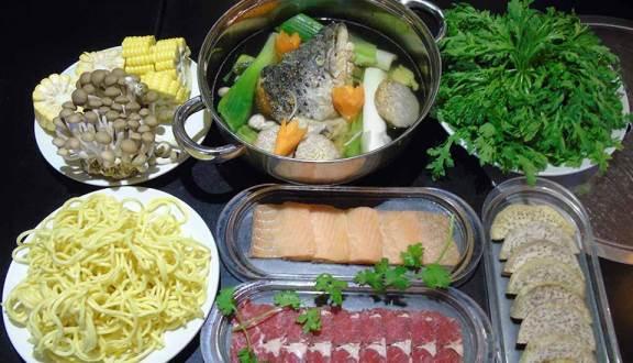 menu Lẩu & Nướng Soa Soa
