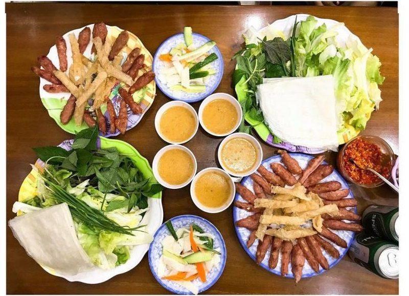 menu Nem Nướng Bà Hùng