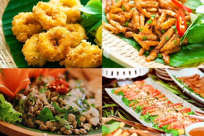 menu Nhà hàng Gạo