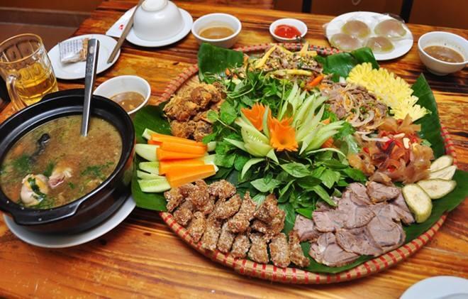 menu Nhà hàng Hải Yến