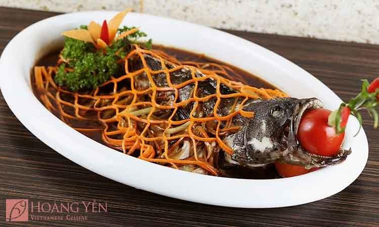 menu Hoàng Yến Cuisine