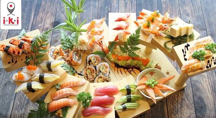 menu IKI Sushi, nhà hàng buffet quận 1