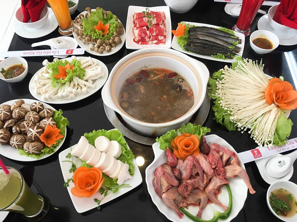 menu Nhà hàng Lẩu nấm Gia Khánh