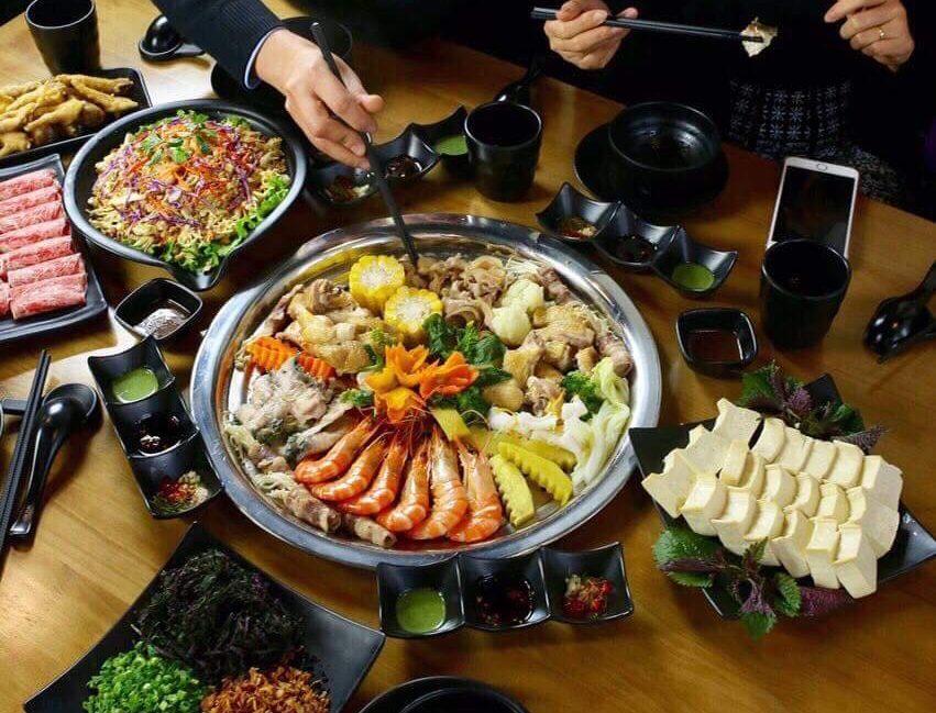 menu Nhà hàng Megumi