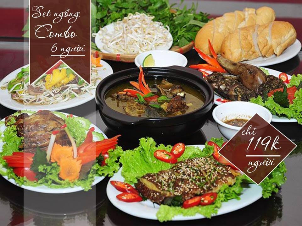 menu Nhà hàng Ẩm thực Mộc