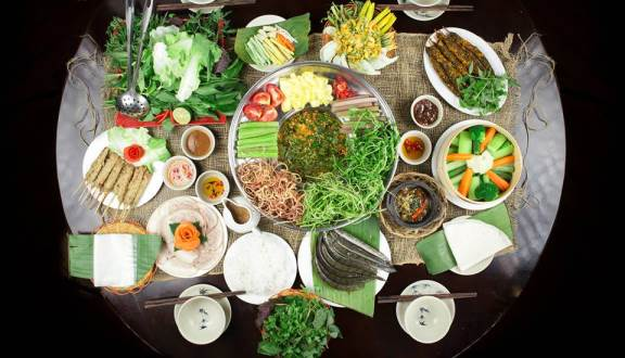 menu Nhà hàng Phương Nam