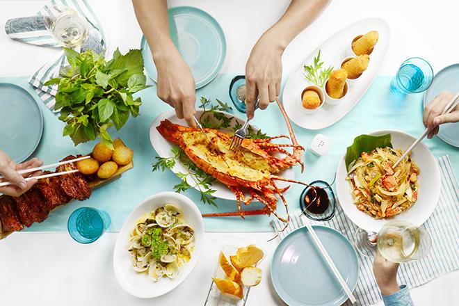 menu Nhà hàng Hải Sản Rivia