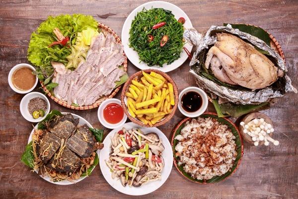 menu Tân Lương Sơn Quán