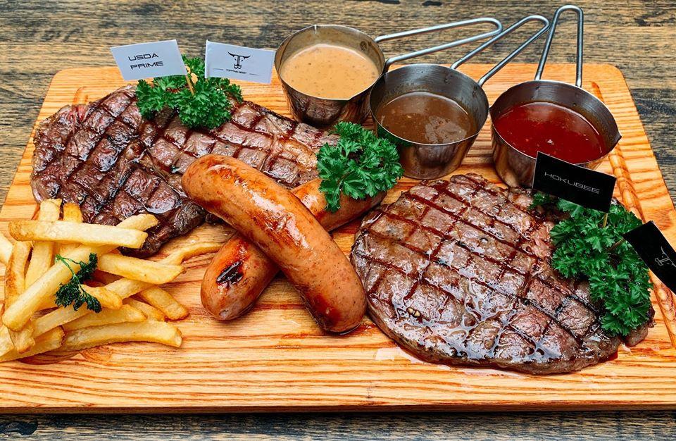 menu Topping Beef