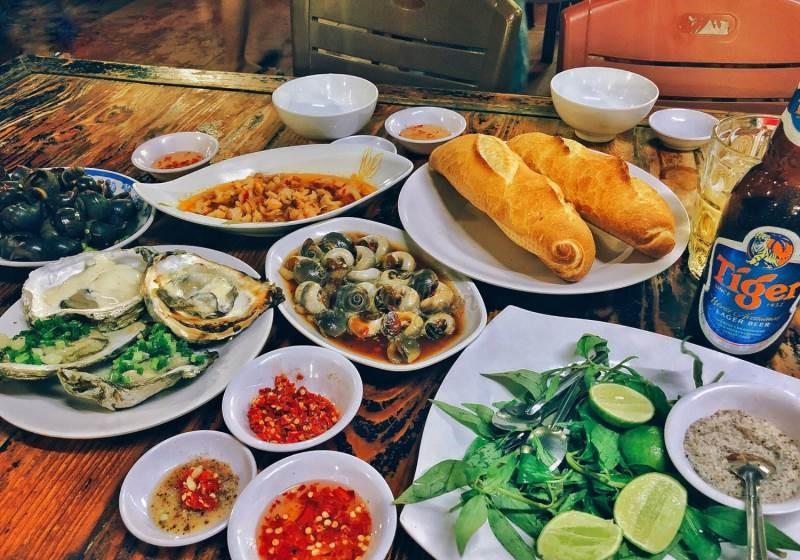 menu Ốc Đào