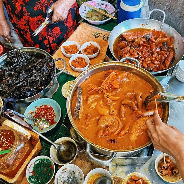 menu Phá Lấu Cô Thảo, quán ăn đặc sản sài gòn