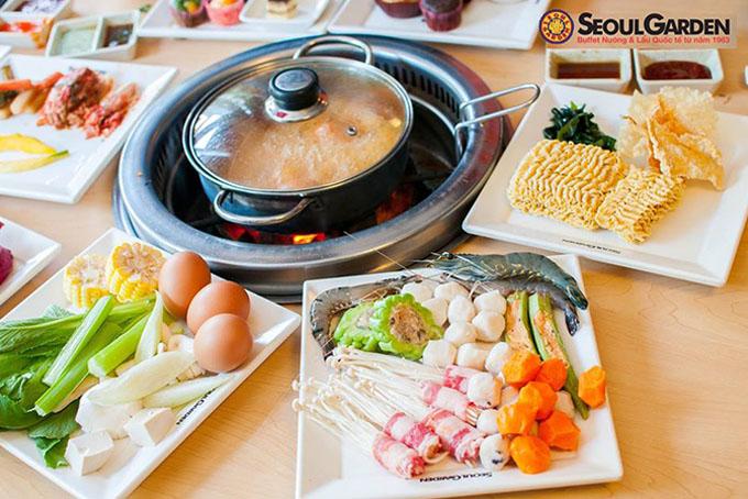menu Seoul Garden