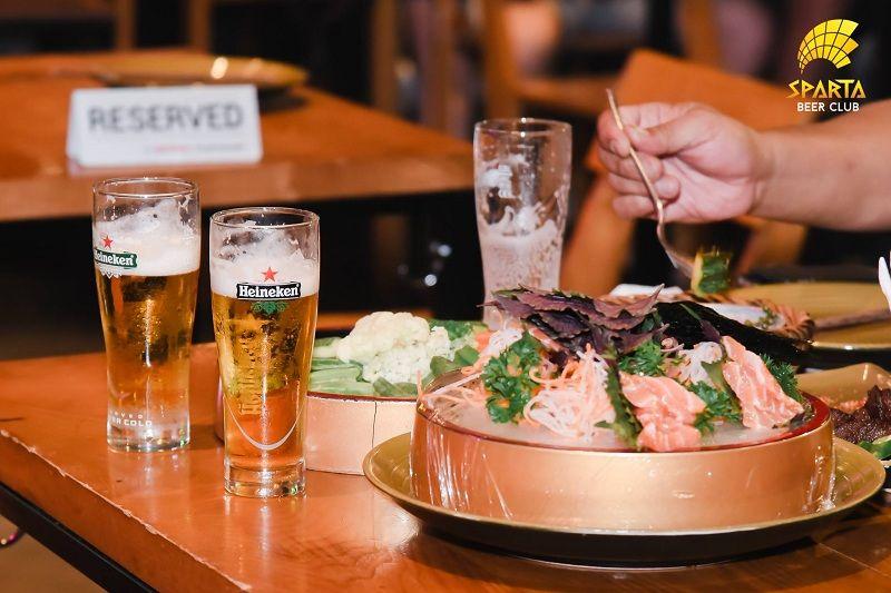 menu Sparta Beer Club