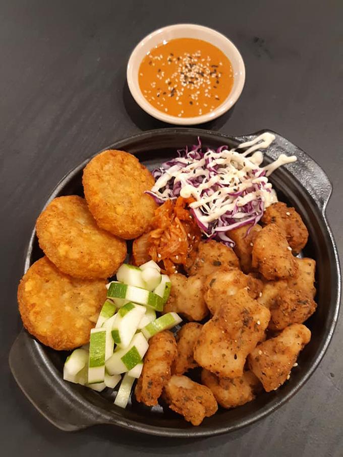 Món ăn Myeongdong