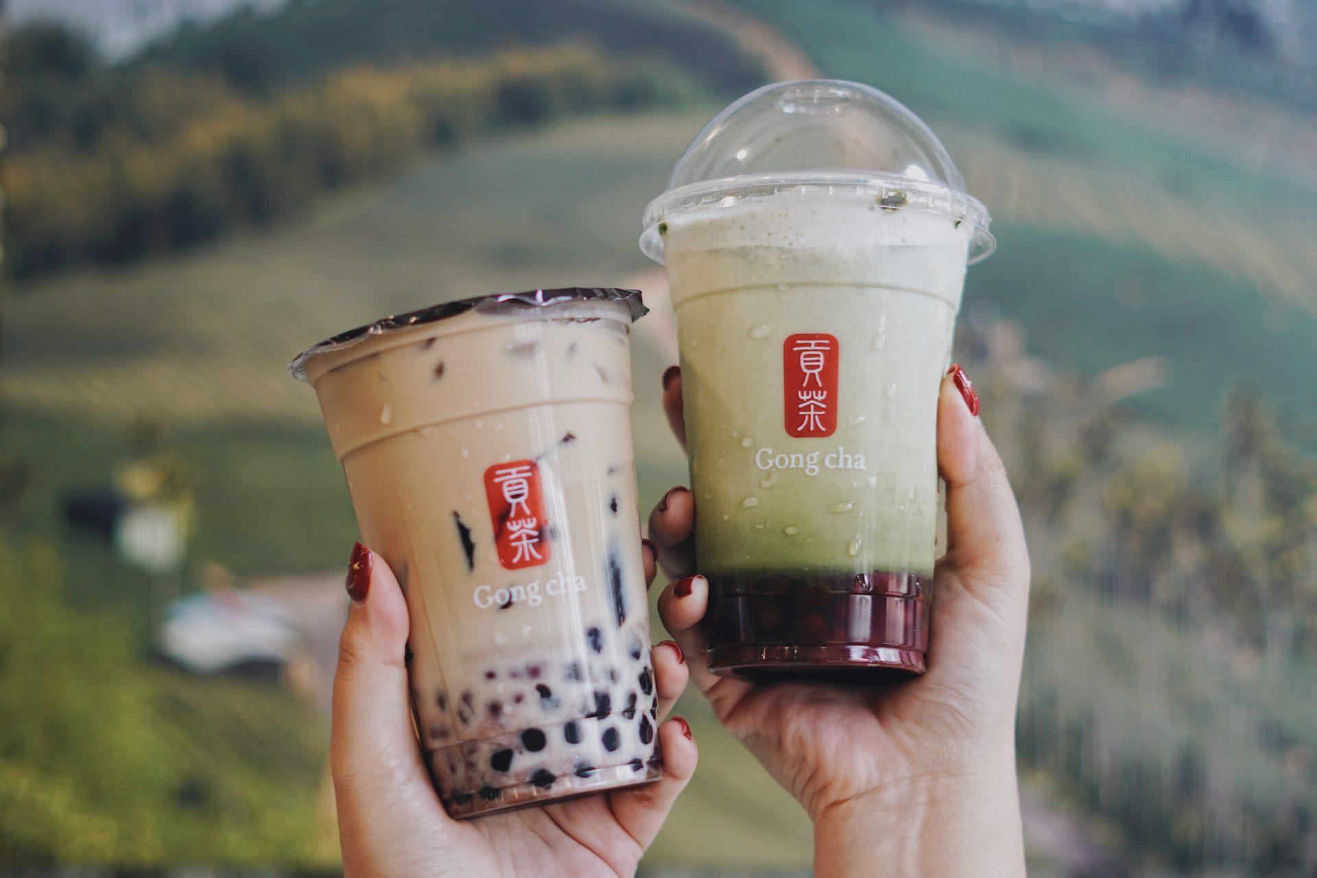 nhượng quyền trà sữa Gong Cha