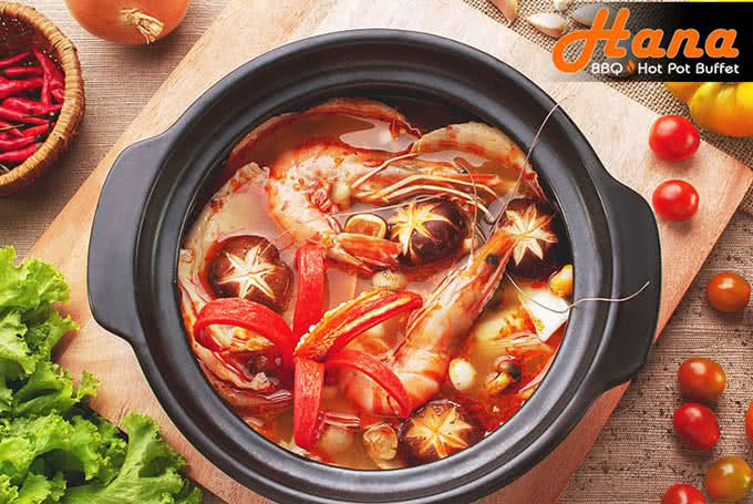 review Hana BBQ & Hot Pot Buffet