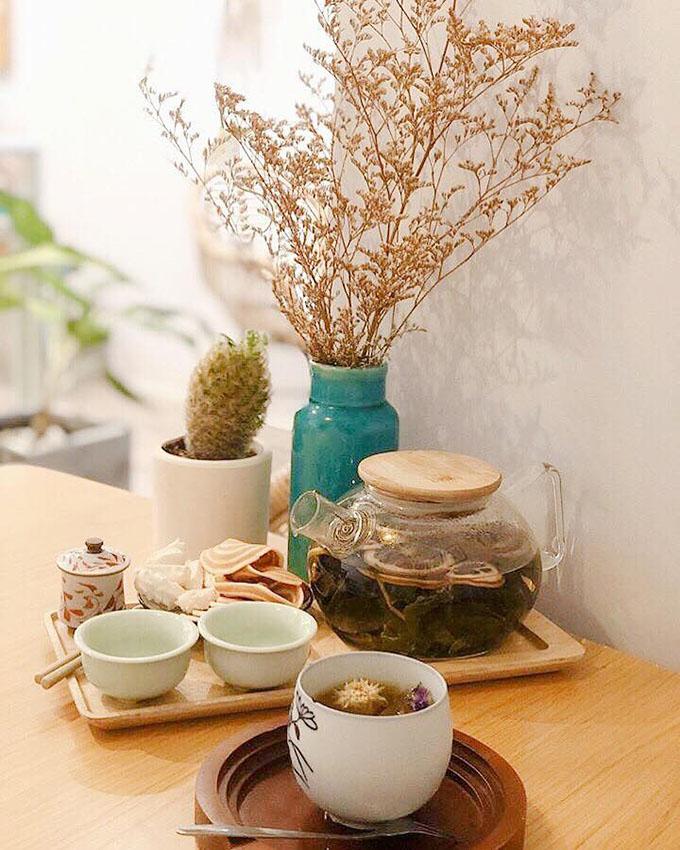 Tiệm trà của Linh