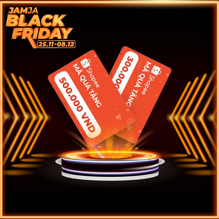 JAMJA BLACK FRIDAY GAME: TỨ HÙNG TRANH BÁ 3