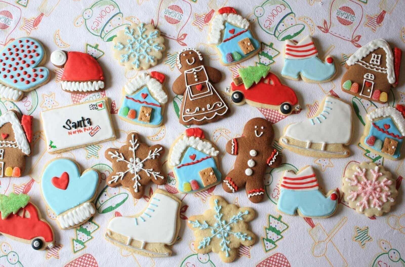 Quà Noel cho bé, Bánh, kẹo Giáng Sinh