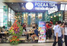 Chi phí nhượng quyền Trà sữa Pozaa Tea
